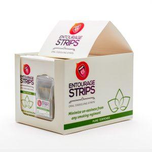 Entourage Strips - oral dissolving strips - all natual